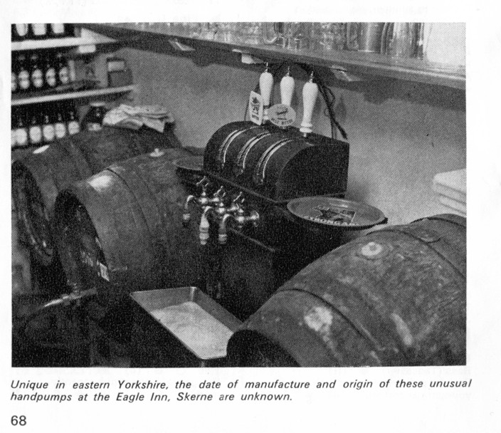 Eagle Inn's Victorian beer engine 1